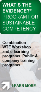 whats the evidence program for sustainable competency